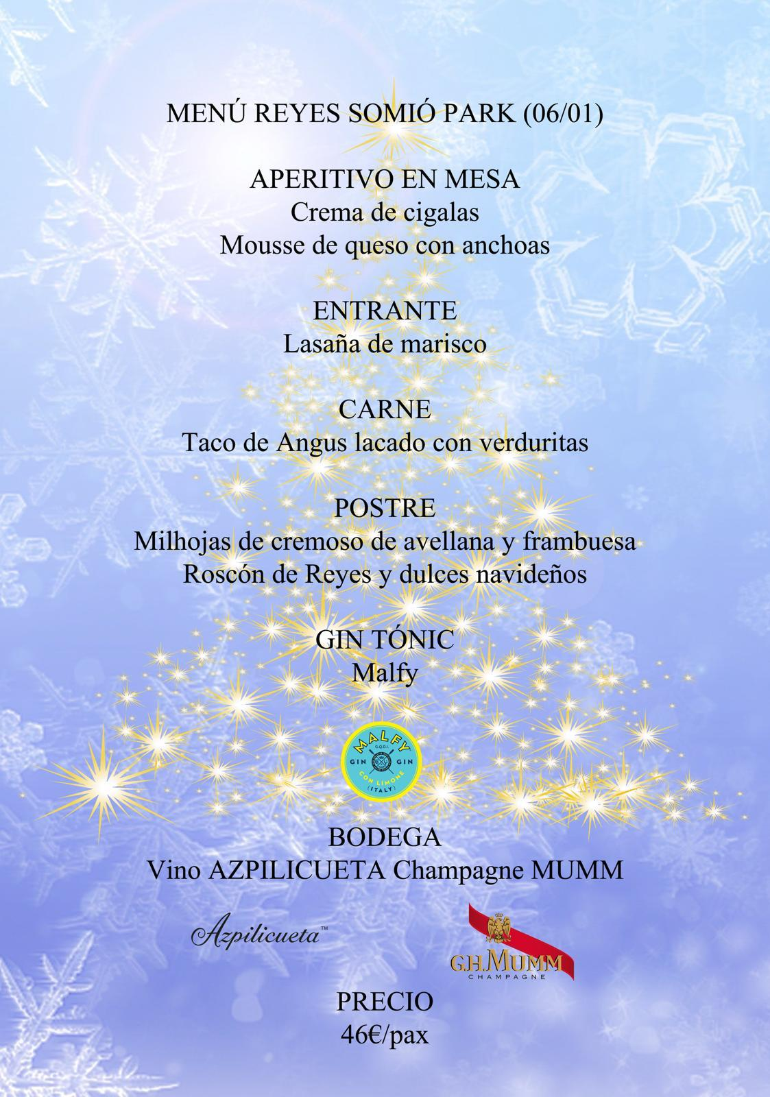 Celebra el día de Reyes en Somió Park