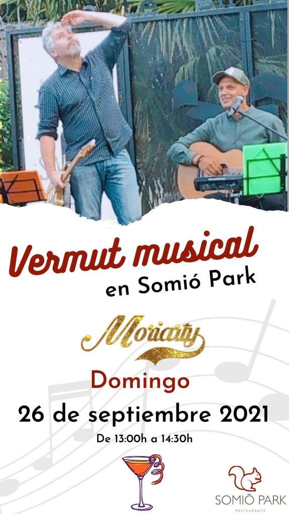 Vermú Musical con Moriarty