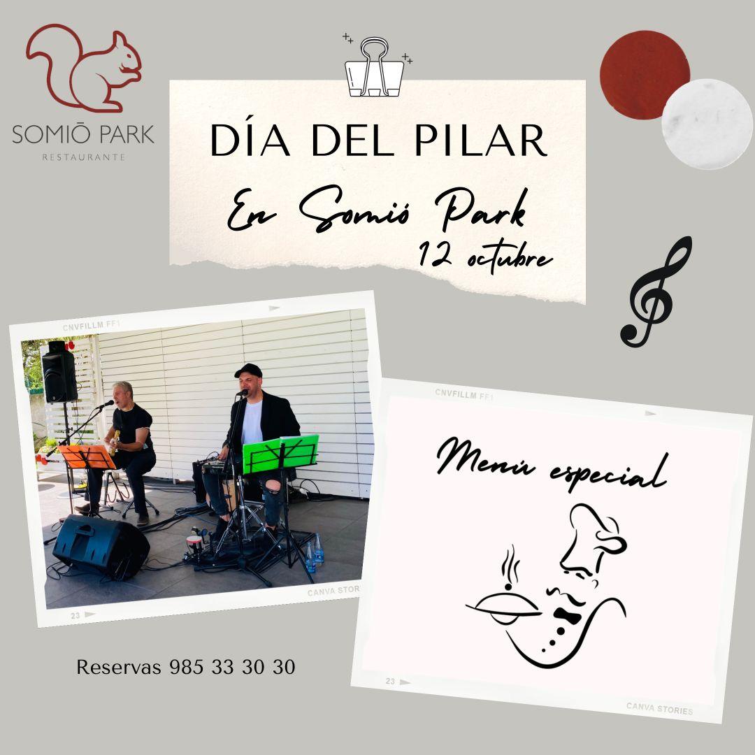 Menú Día del Pilar en Somió Park